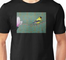 Channing--Goldfinch and Magnolia Unisex T-Shirt
