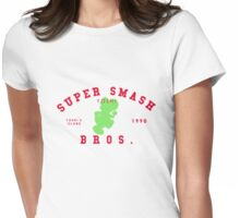 Yoshi - Super Smash Bros. Womens Fitted T-Shirt