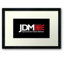 JDM - Japanese Domestic Market Framed Print