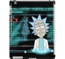 rick sanchez iPad Case/Skin