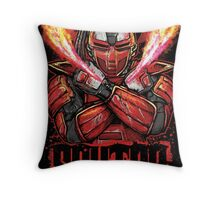 Sektor Mortal Kombat Throw Pillow