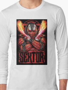 Sektor Mortal Kombat Long Sleeve T-Shirt