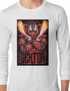 Sektor Mortal Kombat Long Sleeve T-Shirt