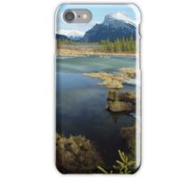 Banff lakes iPhone Case/Skin