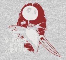 The Nightmare Before Christmas Dark Love Kids Tee