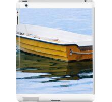 Yellow Row Boat iPad Case/Skin