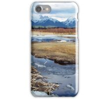 Banff reflections iPhone Case/Skin