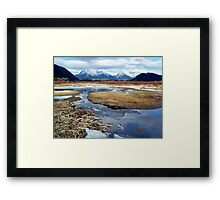 Banff reflections Framed Print