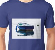 Blue Row Boat Unisex T-Shirt