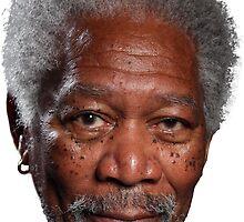 Morgan Freeman  by LucasTheChin