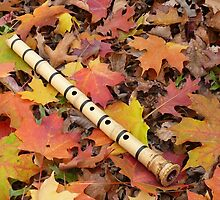 Fall With A Shakuhachi by Jem Klein