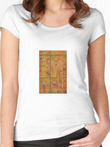 Melbourne CBD  Women's Fitted Scoop T-Shirt