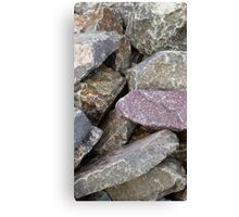 Rock and Rough Canvas Print