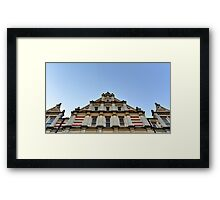 Cambridge, Victorian Architecture Framed Print