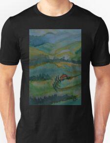 Shades of Tuscany Green T-Shirt