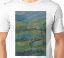 Shades of Tuscany Green Unisex T-Shirt