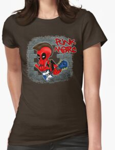 Punk Merc Womens Fitted T-Shirt
