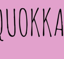 QUOKKA LOVE Sticker