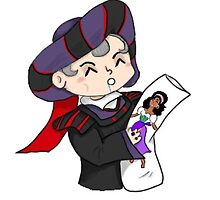 Frollo with Body Pillow by zeldakinz