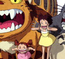 Catbus and Totoro Sticker