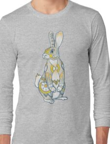 Mandala Bunny Long Sleeve T-Shirt
