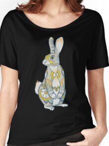 Mandala Bunny Women's Relaxed Fit T-Shirt