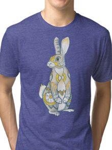 Mandala Bunny Tri-blend T-Shirt