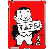 Retro Man Vape Sign  iPad Case/Skin