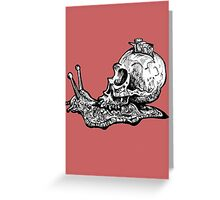 Snail Mail Greeting Card