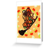 Pumpkin Spice Witch Greeting Card