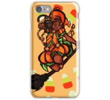 Pumpkin Spice Witch iPhone Case/Skin