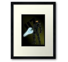 """117"" - Master Chief Print Framed Print"