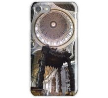 Bernini's Baldacchino & Dome iPhone Case/Skin