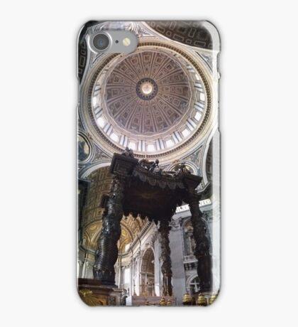 Bernini's Baldacchino & Dome iPhone Case/Skin