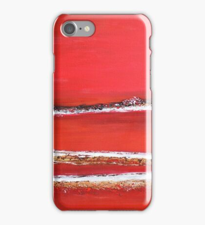 Fields of Fire II - Diptych iPhone Case/Skin