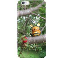 A Wild Dedenne Appears! iPhone Case/Skin