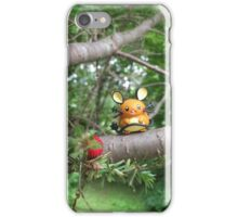 A Wild Dedenne Appears! iPhone Case/Skin