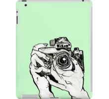 Tumblr Camera Hands iPad Case/Skin