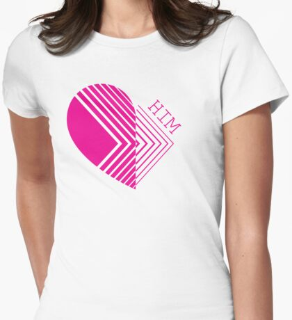 Love Him (for her) Womens Fitted T-Shirt