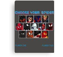 Spider-Verse Fighter Canvas Print