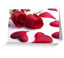 Couple Leaf Greeting Card