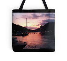 Portovenere Sunset Tote Bag