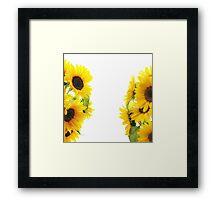 Sun Girl Framed Print