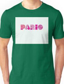 Paris in Pink Unisex T-Shirt