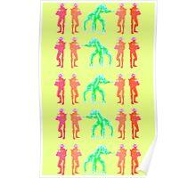 Dancing Robots Poster
