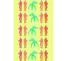 Dancing Robots Photographic Print