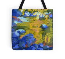 Golden Water. Lynn Creek. Tote Bag