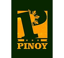 Pinoy Design - P is for Pinoy Photographic Print