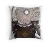 Michelangelo's Dome Throw Pillow