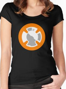 BB-8 Design Women's Fitted Scoop T-Shirt